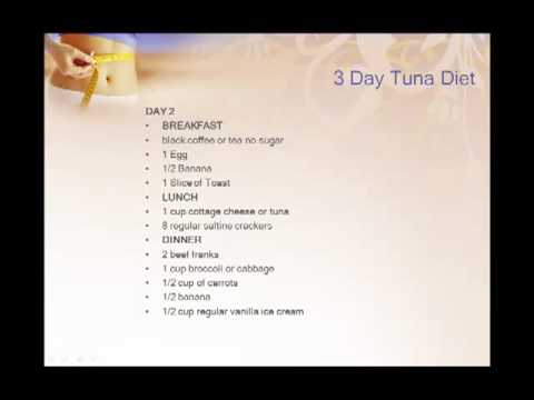 3 day tuna diet reviews