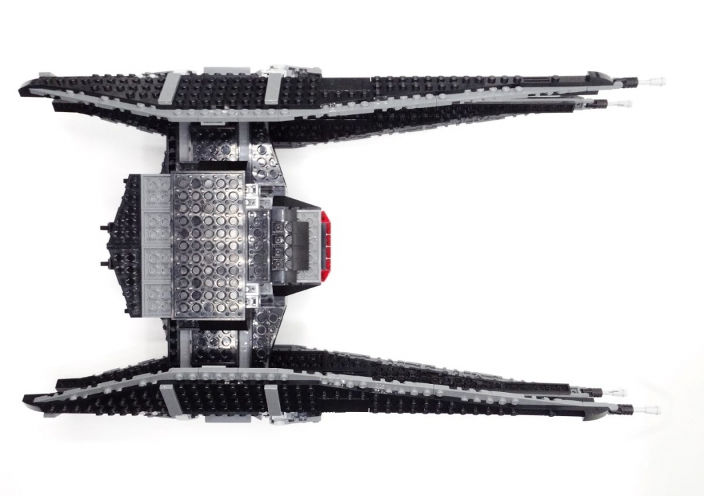lego kylo ren tie fighter review