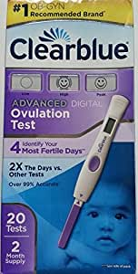 clearblue advanced digital ovulation test reviews