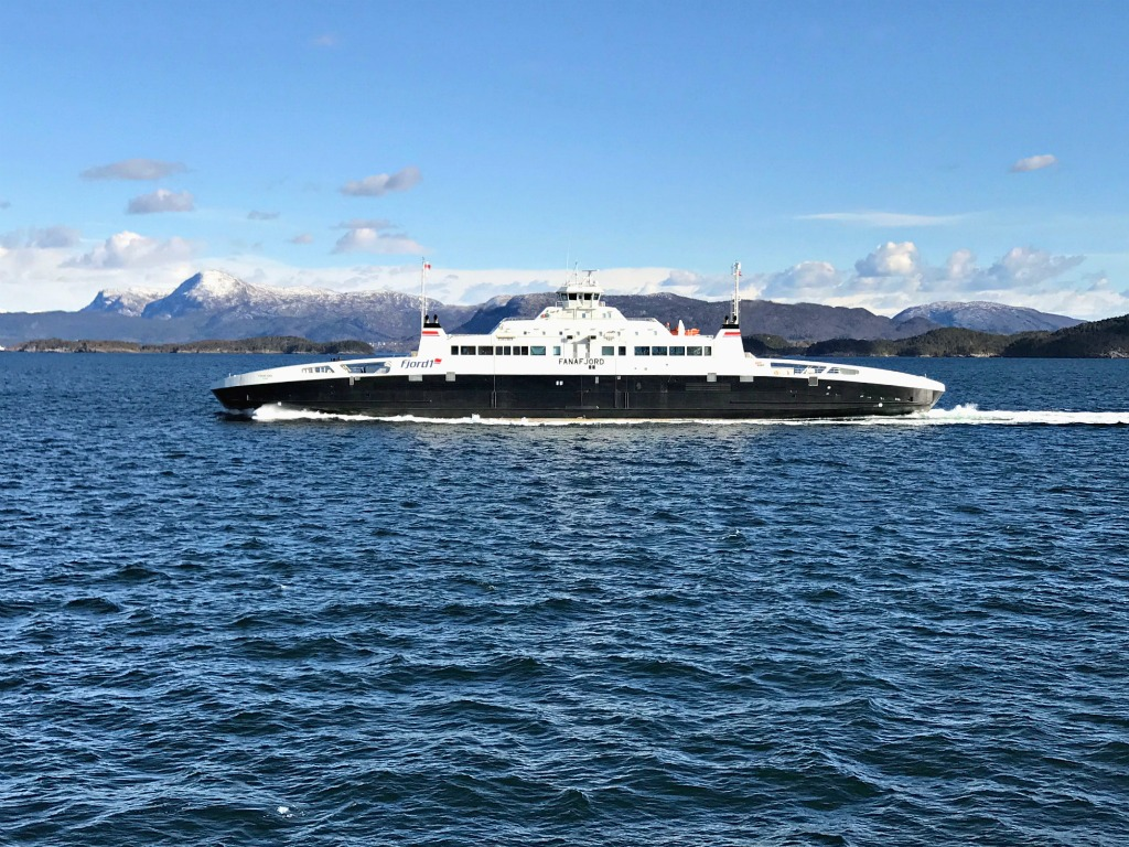 copenhagen to bergen by ferry reviews