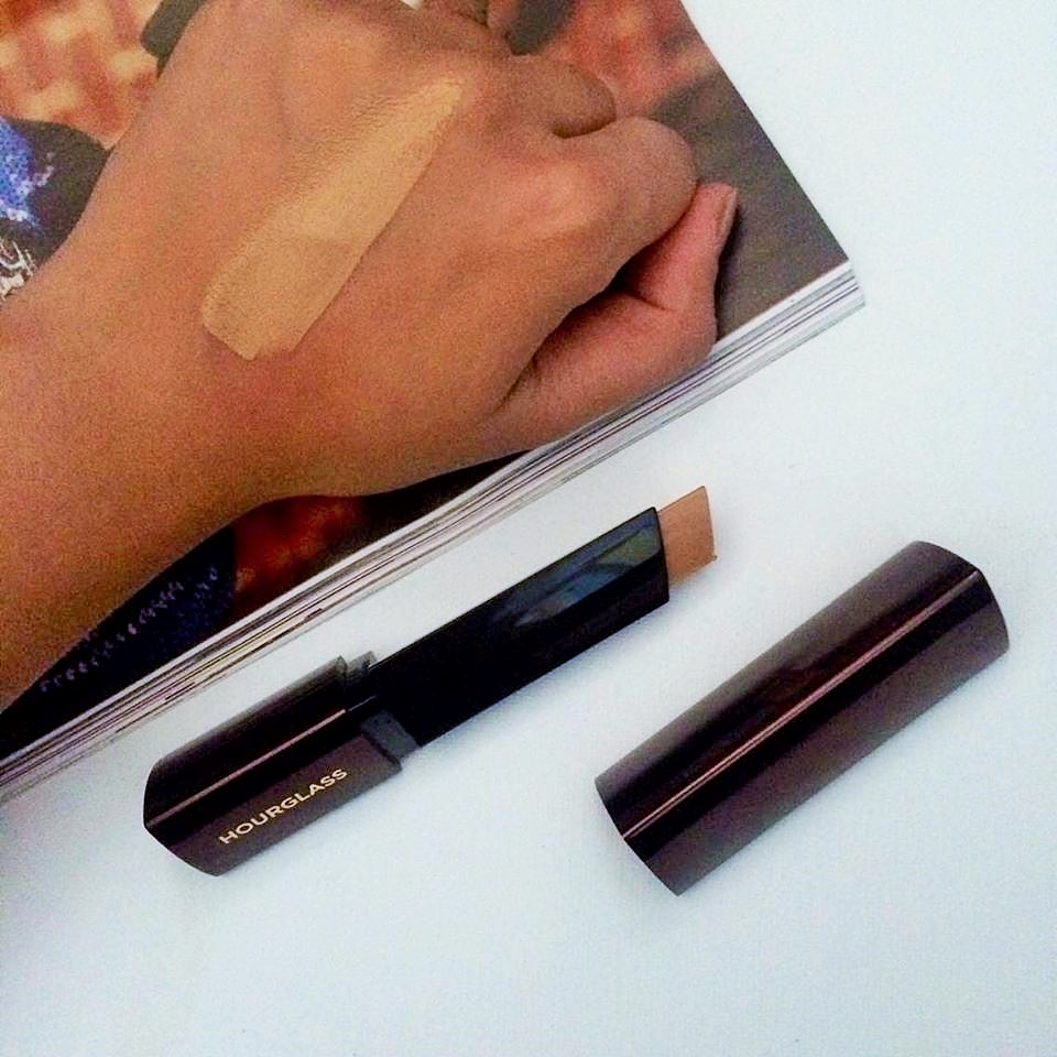hourglass foundation stick review oily skin