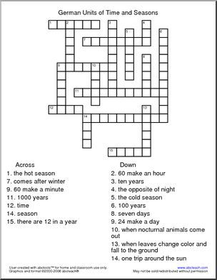 reviewing terms crossword puzzle answers