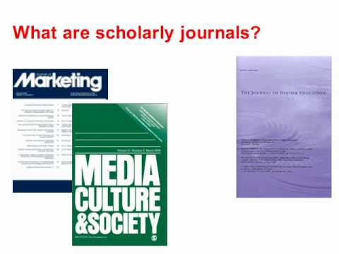 why use peer reviewed articles
